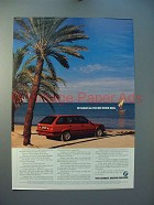 1989 BMW 325i Car Ad - Sailed All The Way