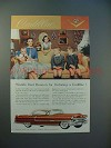 1955 Cadillac Car Ad - Best Reason for Ordering
