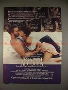 1983 Against All Odds Ad w/ Rachel Ward & Jeff Bridges!