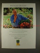 1992 Miracle Gro Ad with Actor Richard Dysart, NICE!!