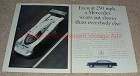 1990 Mercedes Race Car 2-page Ad, Wears Out Slower!!