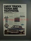 1978 Chevrolet Chevy Pickup Truck Ad - Tightfisted