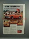 1979 Chevrolet Chevy Monza Station Wagon Ad - Equipped