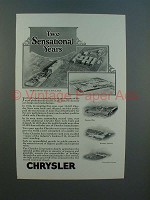 1926 Chrysler Car Plants Ad - Two Sensational Years