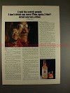 1973 Teacher's Scotch Whisky Ad w/ Redd Foxx NICE!!