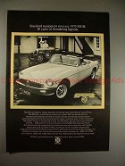 1975 MG MGB Car Ad, 50 Years of Thundering Legends!!
