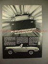 1978 MG Midget Car Ad, Blows Your Mind Not Your Budget!