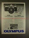 1978 Olympus OM-1 OM1 Camera Ad, The $100 Give-away!!