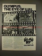 1979 Olympus Camera Ad - The Eye of U.P.I. - NICE!!