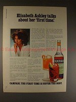 1981 Campari Ad w/ Elizabeth Ashley - Her First Time!!