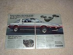 1978 Mazda RX-7 RX7 GS 2-page Car Ad, Few Lucky People!