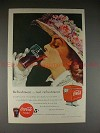 1949 Coke Coca-Cola Ad, Real Refreshment - NICE!!