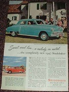 1947 Studebaker Champion Regal Deluxe Ad!!
