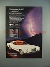 1977 Ford Thunderbird Car Ad - It's Hard to Believe