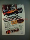 1981 Ford Bronco Ad - Miles Ahead in MPG