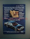 1983 Ford LTD Car Ad - Every Inch an LTD