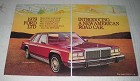 1979 4-page Ford LTD Car Ad - LTD Landau 4-Door Sedan, LTD Landau 2-Door Sedan