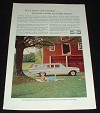 1960 Chevrolet White Kingswood Wagon Ad!!!