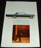 1963 Buick Electra 225 Car Ad, Performance!