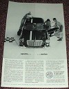 1963 MG Sports Sedan Car Ad, NICE!!