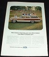 1964 Ford Country Squire Station Wagon Ad!!!