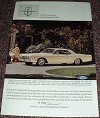 1966 Lincoln Continental Car Ad, Way of Life!
