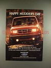 1994 Ford Ranger 4x4 Pickup Truck Ad, Happy Mudders Day