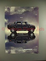 2004 Hummer H2 Sport Utility Truck Ad - Backless