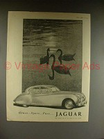 1954 Jaguar Car Ad - Grace