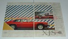 1987 Jaguar XJ-S 3.6 Coupe Car Ad - Kindred Spirit