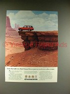 1989 Land Rover Range Rover Ad - Run to the Corner