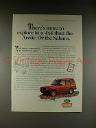 1998 Land Rover Discovery Ad - More to Explore