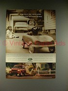 2000 Land Rover Discovery Series II Ad - Help the Child