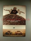 2000 Land Rover Discovery Series II, Range Rover Ad!
