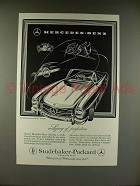 1957 Mercedes 300 SL Roadster Car Ad - Legacy