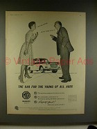 1960 MG Magnette Mark III Car Ad - Young of all Ages