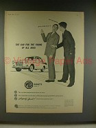 1960 MG Magnette Mark III Car Ad - Car for the Young