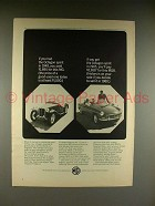 1965 MG Octagon Spirit Car Ad - If you Had in 1948
