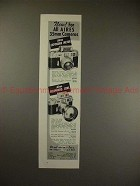 1958 Aires Exposure Meter & Telephoto Lens Ad, NICE!!