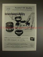1959 Aires V Camera Ad - Symbol of Quality, NICE!!