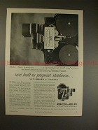 1956 Bolex H-Cameras Movie Camera Ad - Pinpoint Steady!