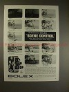 1958 Bolex B-8 Variable Shutter Movie Camera Ad, NICE!