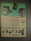 1957 Canon V Rangefinder & Canon 8 Movie Camera Ad!!