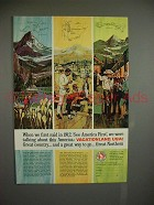 1965 Great Northern Railway Ad - See America First