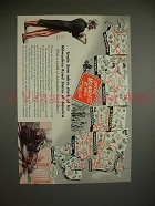 1943 Milwaukee Road Train Ad w/ Uncle Sam - Takes Stock