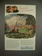 1944 Milwaukee Road Olympian Train Ad - Some Day
