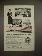 1957 Northern Pacific Railway Ad - Enjoy these Extras