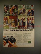 1978 Fuji Fujica AZ-1 Zoom Camera Ad - Closer to Family