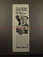 1966 Konica Auto-S2 Camera Ad - Price and Automation!!