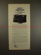 1972 Leica M5 M-5 Camera Ad - 12,000 Americans Will Buy